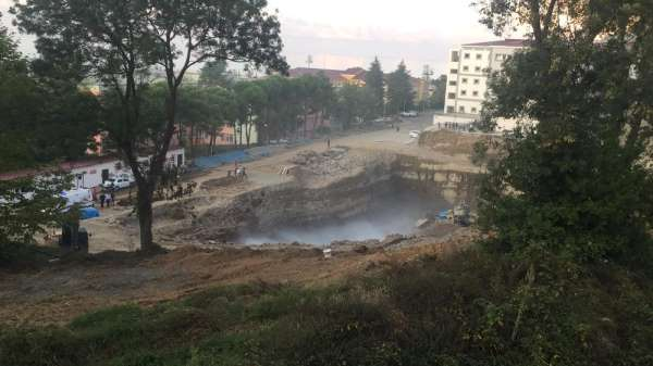 KTÜ'deki patlama korkuttu