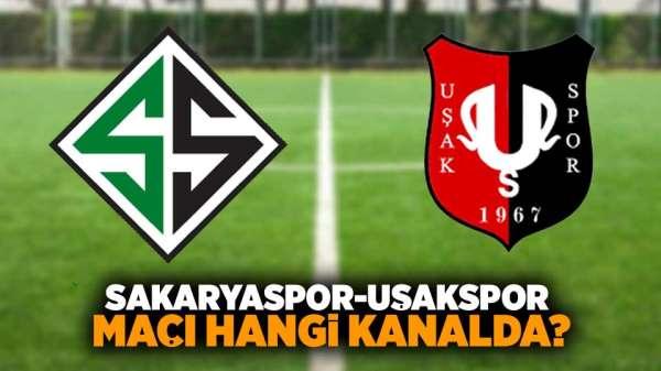 Sakaryaspor- Uşakspor maçı hangi kanalda?