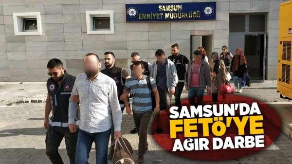 Samsun'da FETÖ'ye ağır darbe