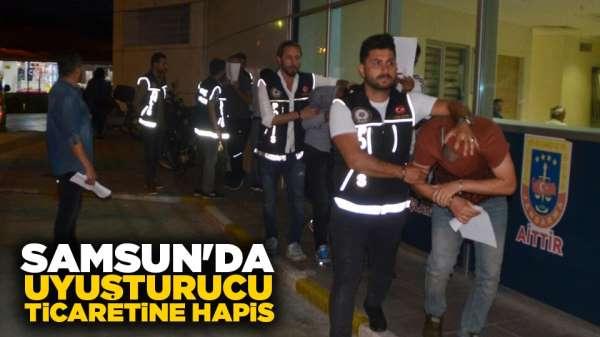 Samsun'da uyuşturucu ticaretine hapis
