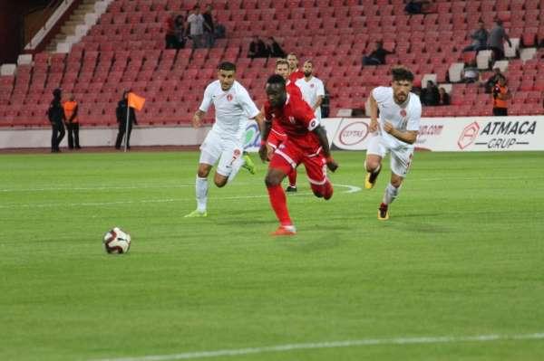 TFF 1. Lig: Balıkesirspor: 2 - Ümraniyespor: 0 (İlk yarı sonucu)