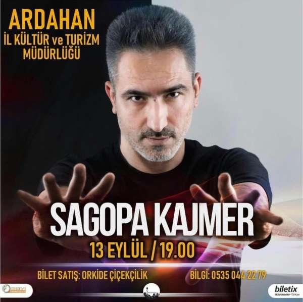 Ünlü Rapçi Sagopa Kajmer, Türkiye turnesine Ardahan'dan başlıyor