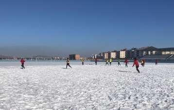 Kars 36 Spor Yakudiye Spor karşılaşması hazırlıklarını sürdürüyor