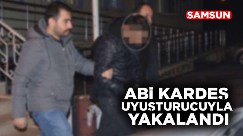 Samsun'da kardeşler uyuşturucuyla yakalandı