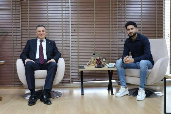 Hatayspor, Muhammed Mert'le sözleşme imzaladı