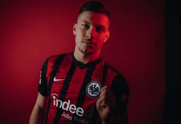 Luka Jovic, Eintracht Frankfurta döndü