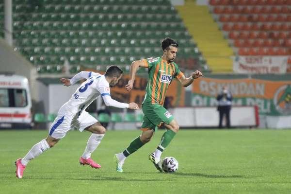 Ziraat Türkiye Kupası: Aytemiz Alanyaspor: 2 - BB Erzurumspor: 1 (ilk yarı)