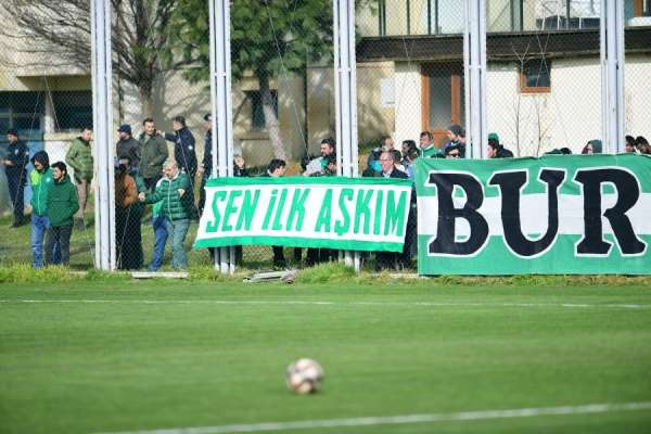 Bursaspor, taraftarıyla buluştu