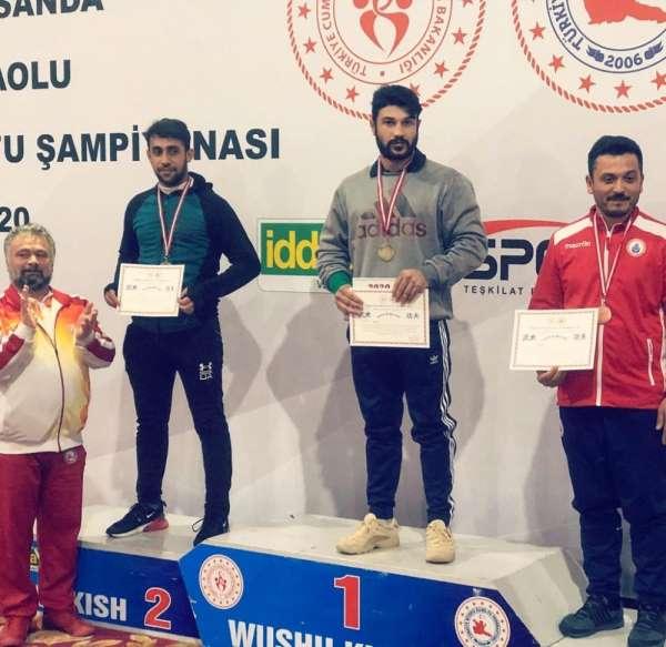 Cizreli Cudi Çelik, Türkiye wushu kung fu şampiyonu oldu