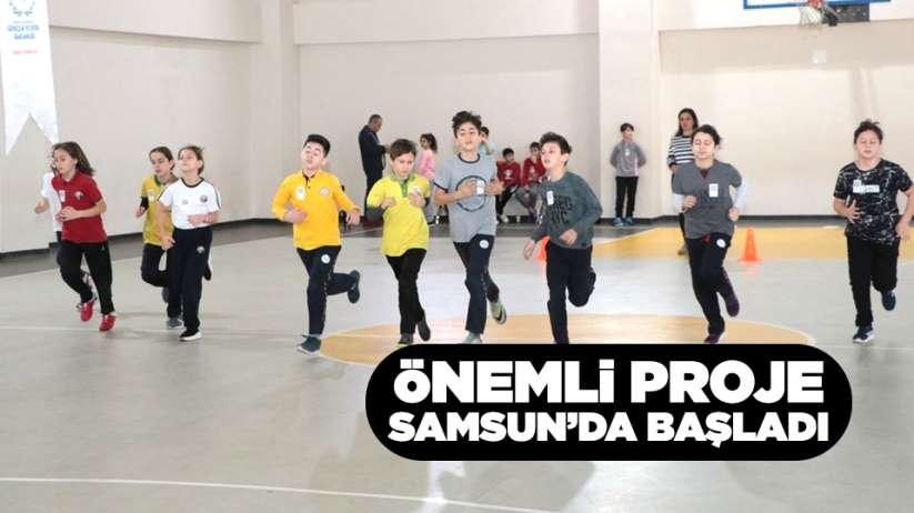 Önemli proje Samsun'da başladı