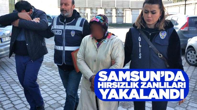 Samsun'da hırsızlık zanlıları yakalandı
