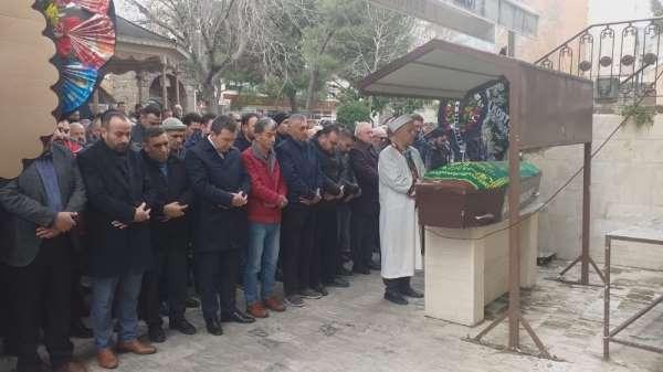 Trafik kazasında ölen Parmaksız'a cenaze töreni