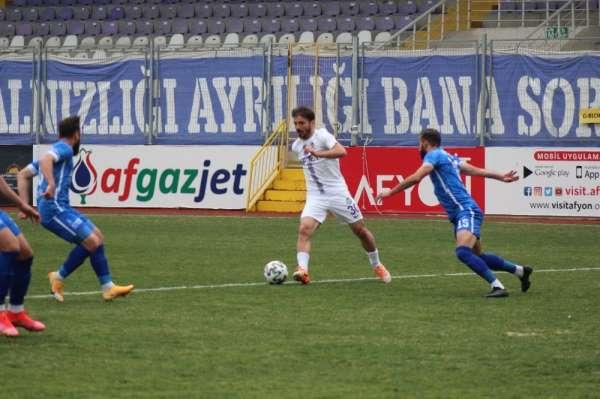 TFF 2. Lig: Afyonspor: 2 - Ergene Velimeşespor: 1