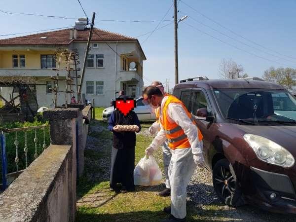 19 Mayıs Belediyesi'nden ihtiyaç sahiplerine yardım