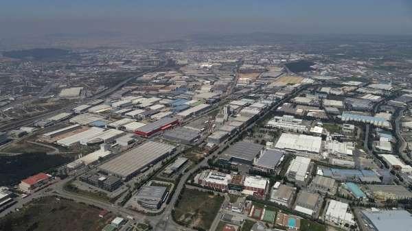 (Özel) Sanayi kenti Kocaeli'de üretim devam ediyor