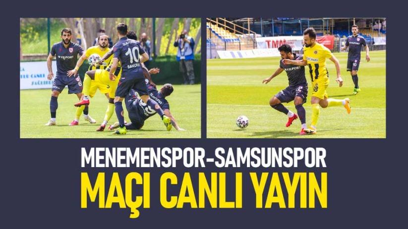 Menemenspor-Samsunspor maçı canlı yayın