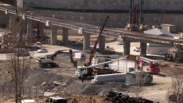 Başakşehir - Kayaşehir metro şantiyesinde kaza