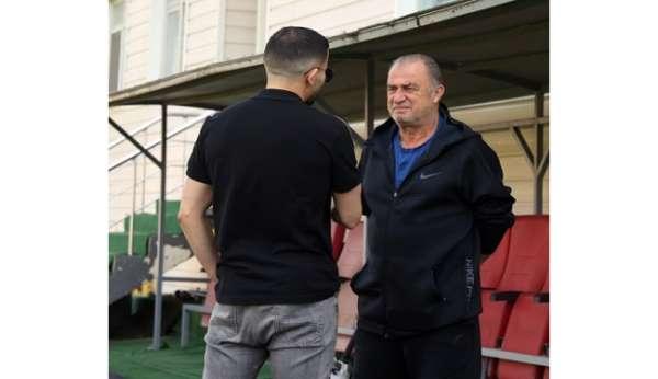 Galatasarayda Göztepe hazırlıkları devam etti
