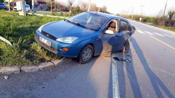 Samsunda trafik kazası: 6 yaralı