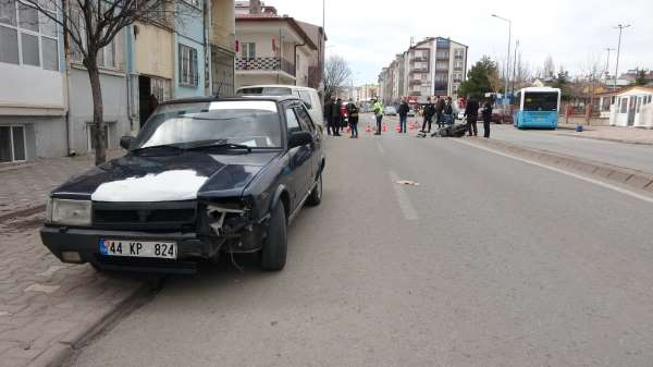 Sivasta trafik kazası: 1 yaralı