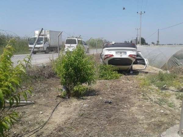 Tarsus'ta trafik kazaları: 1 ölü, 1 yaralı
