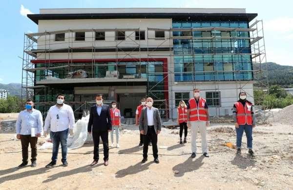 Türk Kızılayı'dan Amasya'ya Kan Bağış Merkezi
