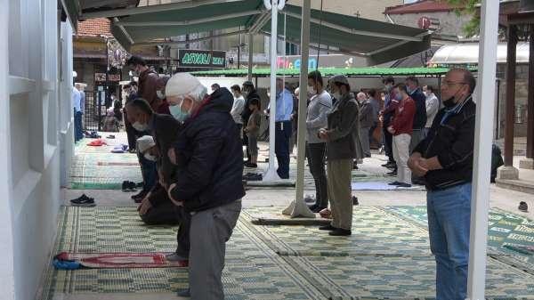 Filistin şehitleri için Kırklarelinde gıyabi cenaze namazı kılındı
