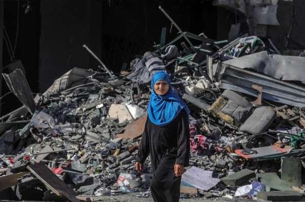 İsrailin Gazzeye yönelik saldırılarında can kaybı 119a ulaştı