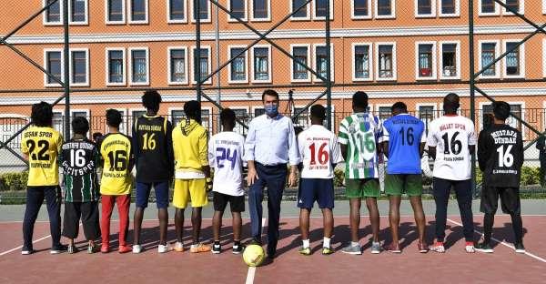 Osmangazide spor turnuvası start aldı