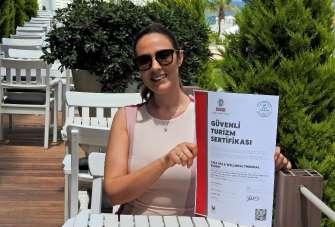 Çeşme'nin ilk 'Güvenli Turizm Sertifikası'