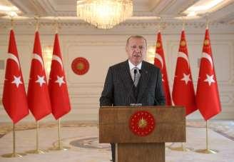 Cumhurbaşkanı Erdoğan Uluslararası İslam Ekonomisi ve Finansı Konferansı'na tele