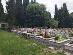 Jandarmanın 181. kuruluş yıl dönümünde Edirnekapı Şehitliği ziyaret edildi