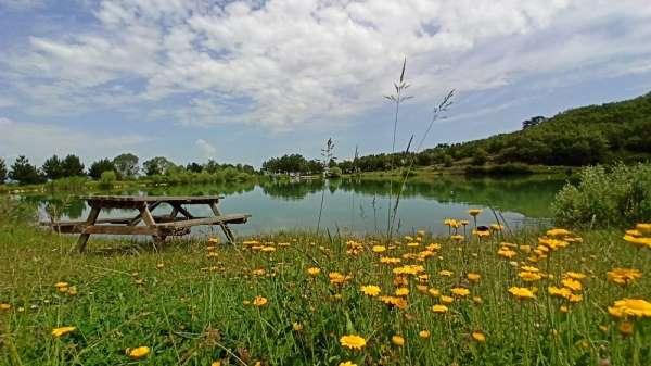 Saklı cennet 'Yeşil Göl' turizme kazandırılıyor