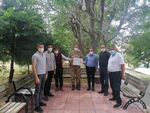 Şehit yakınları Jandarma Teşkilatının 181. kuruluş yıl dönümünü kutladı
