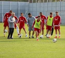 Sivasspor, Denizlispor maçı hazırlıklarını tamamladı