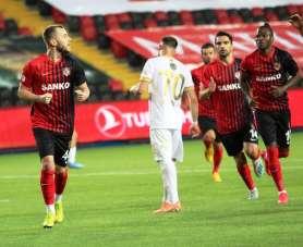 Süper Lig: Gaziantep FK: 1 - MKE Ankaragücü: 0 (İlk yarı)