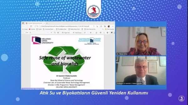 Kalavrouziotis: Arıtılmış evsel atık sular, tarımsal ürün sulaması için yeniden kullanılmalı