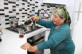 74 yaşındaki kadının ölmeden önceki son isteği evine doğal gaz bağlanması