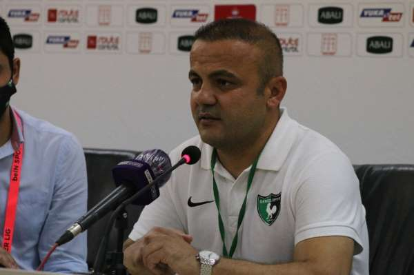 Levent Kartop: 'Maçı aldığımız için çok mutluyum'