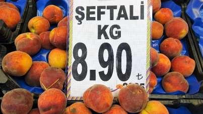 Şeftali tarlada 2 lira, markette 8 lira