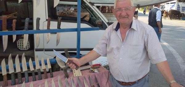 Alaplıda bıçak, satır ve balta satışları arttı