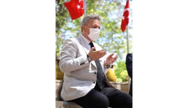 Başkan Palancıoğlu 15 Temmuz şehitlerini andı