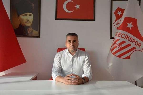 Bileciksporda Aydın Avcı yeniden başkan seçildi