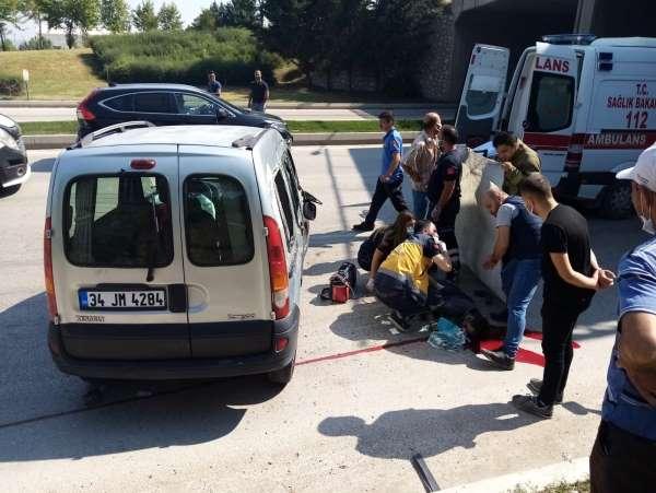 Bursada feci kaza: Devrilen aracının altında hayatını kaybetti