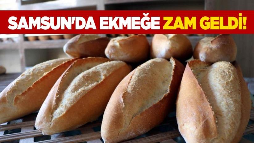 Samsunda ekmeğe zam geldi!