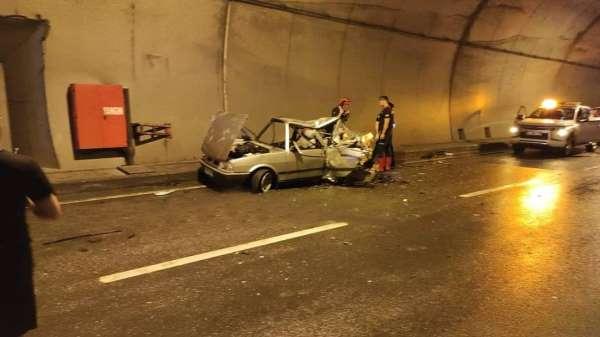 Giresunda trafik kazası 1 ölü, 4 yaralı