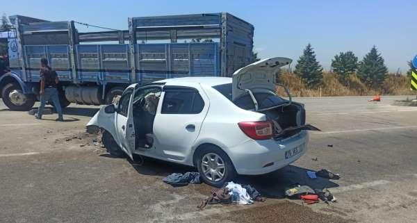 Karacabeyde kaza: 1 yaralı