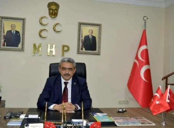 MHP İl Başkanı Alıcık; 15 Temmuz her şeyden önce terörist darbe kalkışmasıdır