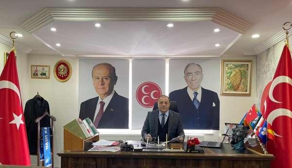 MHP İl Başkanı Naim Karataştan 15 Temmuz Demokrasi Zaferi ve Şehitleri Anma Günü mesajı