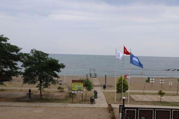 Orduda iki plaja Mavi Bayrak ödülü